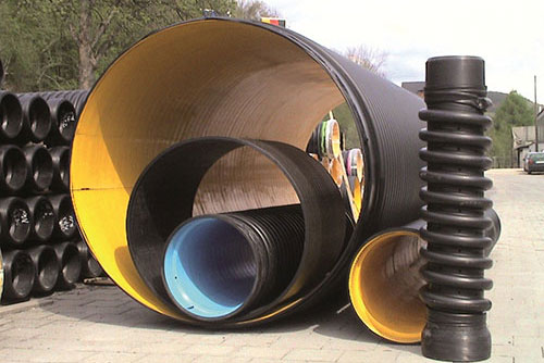 Helical Wound HDPE Pipe